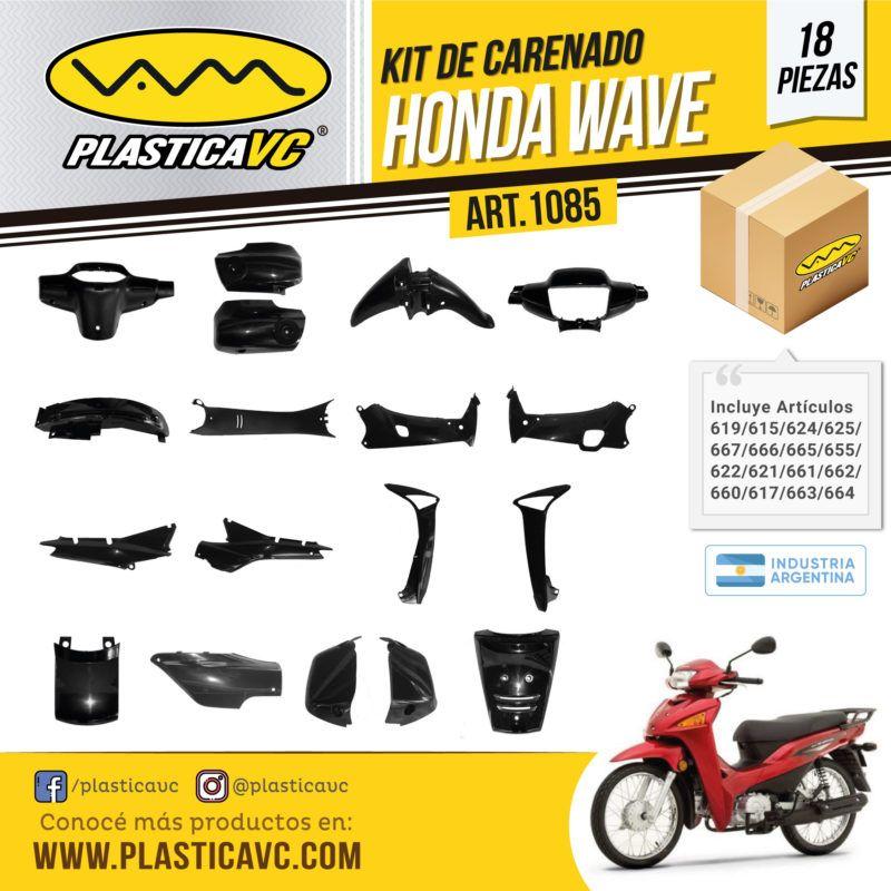 Kit de carenados, palsticos para Honda Wave